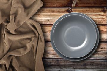 piatto vuoto in fondo ambient