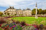 Fototapeta Luxemburg Palace And Garden, Paris.
