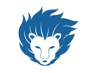Liion Head Mascot