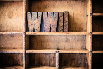 WWII Concept Wooden Letterpress Theme