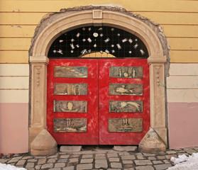 door in Old Town of Bratislava