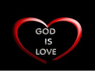 God is love, symbol