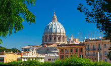 St.Peter's Basilica. Late Renaissance church. Vatican City