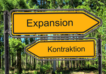 Strassenschild 41 - Expansion