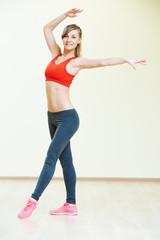 pilates stretching fitness exercises
