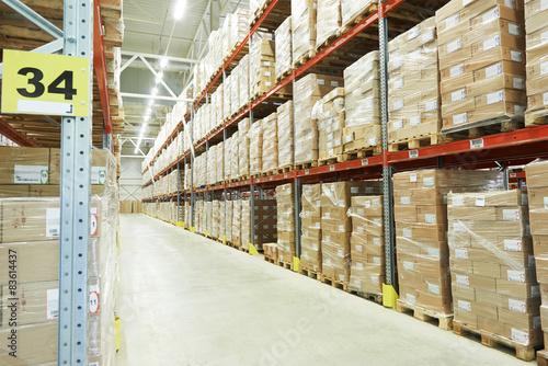 Staande foto Industrial geb. moderm warehouse