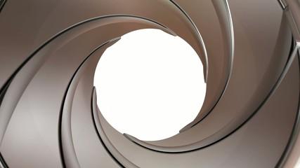 Gun Barrel rotate