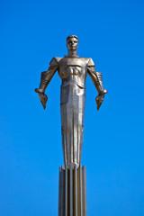 Yuri Gagarin monument - Moscow Russia