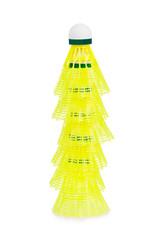 Badminton shuttlecock stack