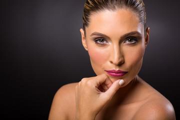 woman fresh beauty shot