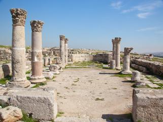 Ruins from Amman Jordan