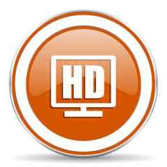 hd display orange icon