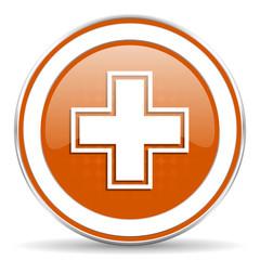pharmacy orange icon