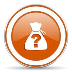 riddle orange icon