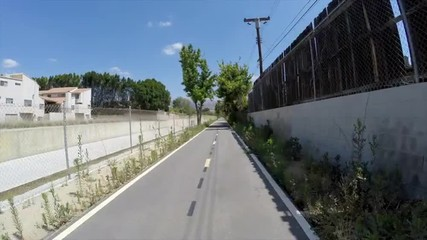 Los Angeles Valley Bike Path Time Lapse
