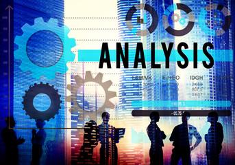 Analysis Analyze Business Information Data Concept
