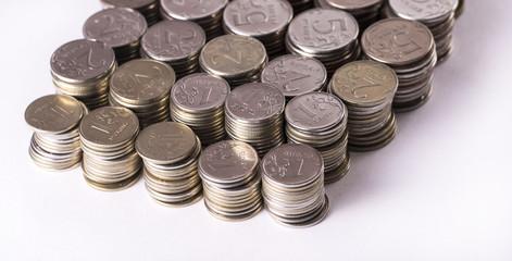 Metal Russian money