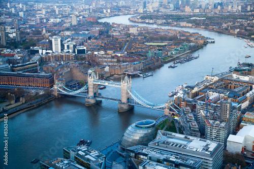 Zdjęcia na płótnie, fototapety, obrazy : LONDON, UK - APRIL15, 2015: Tower bridge in sunset.