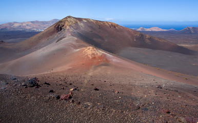 volcanic park Timanfaya, Lanzarote