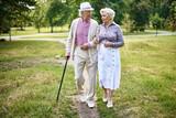 Senior walkers