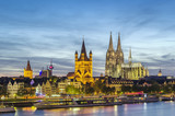 view of Cologne, Germany - 83636404