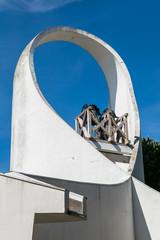 Clocher église moderne