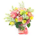 Fototapety Beautiful gift bouquet