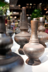 northern Thailand style earthenwares