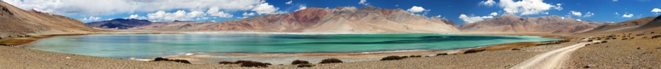 Lake Kar or Tso Kar - Rupshu valley, Ladakh