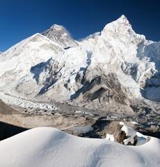Everest, Lhotse and Nuptse from Kala Patthar