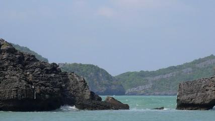 Sea and Rocks - Scenic Thailand Islands