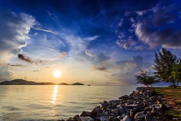 Sunrise at Saphan Hin, Phuket, Thailand