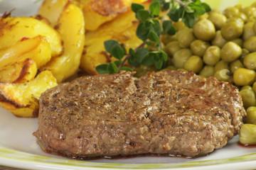 steak haché et légumes 20052015