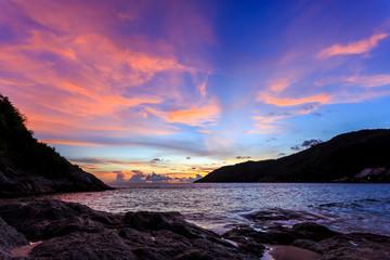 Sunset at Nai Harn Beach, Phuket