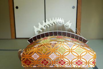 Traditional Japanese koto