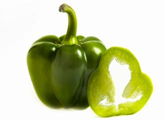 Grön paprika.