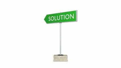 Solution vs Problem