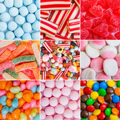candies and jellies