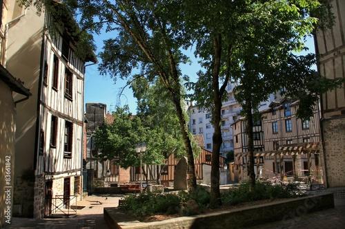 Vieux quartiers à Limoges .(Haute-Vienne) Poster