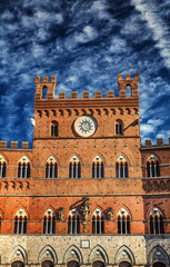 Architectonic detail from Siena