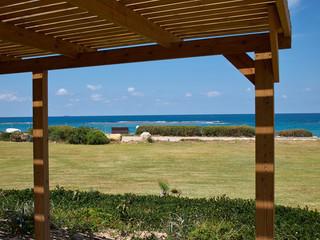 Modern classical beach pergola gazebo pavilion