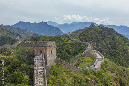 Great Wall of China JinShanLing Poster