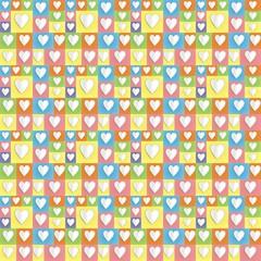 colour paper heart background