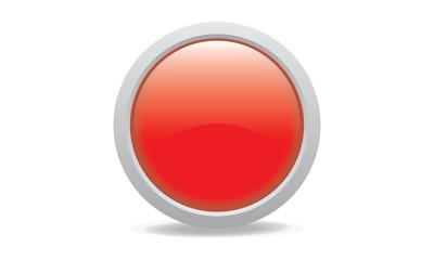 green glossy web icon