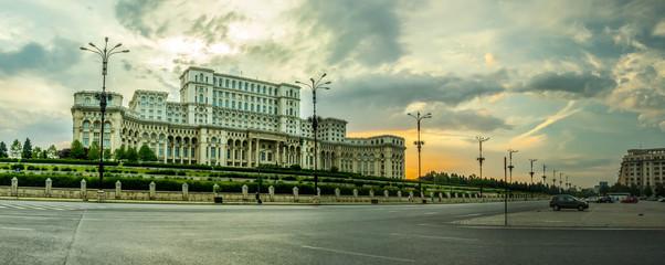 BUCHAREST, RO, MAY 2015: Parliament Palace (Casa Poporului)