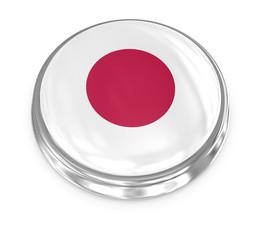 Flag badge - Japan
