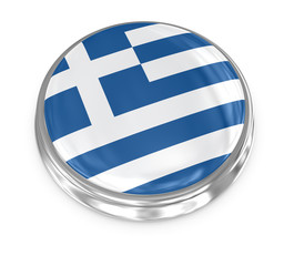 Flag badge - Greece