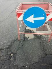 Deviazione stradale