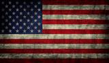 Fototapety Grunge USA Flag