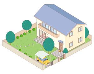 家の鳥瞰図